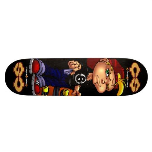 Cheap Skaterz® Dirk Poor Skateboard