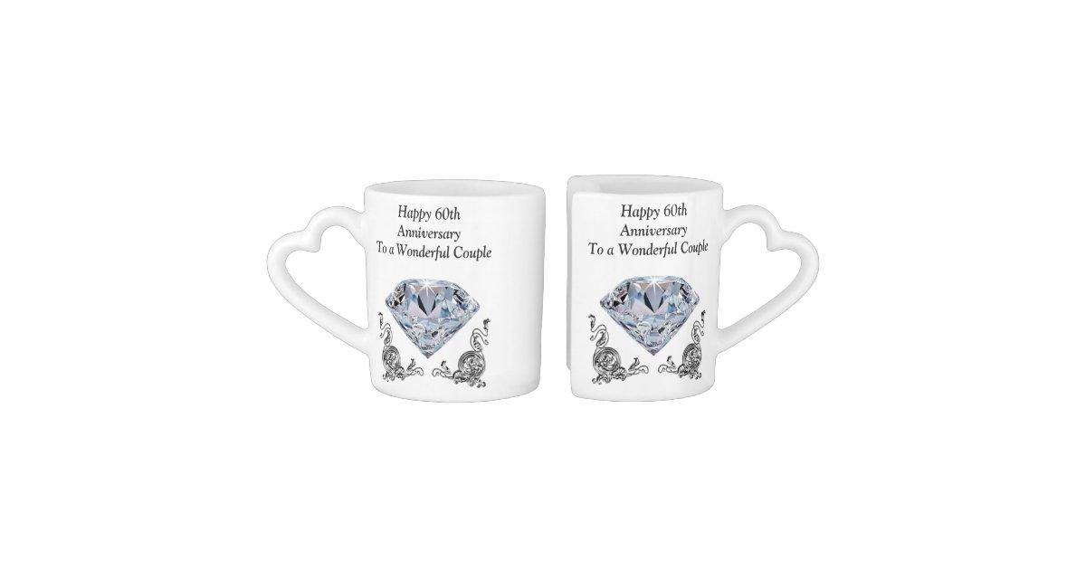 Cheap Unique Diamond Wedding Anniversary Gifts Coffee Mug Set Zazzle