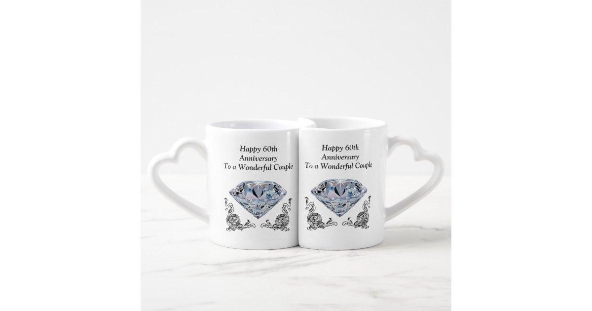 Unique Wedding Gifts Au : Cheap Unique Diamond Wedding Anniversary Gifts Coffee Mug Set Zazzle
