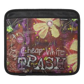Cheap White Trash Ipad Sleeve