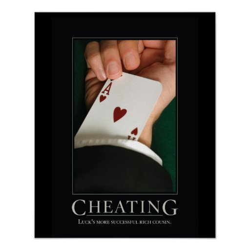 cheating demotivational posters zazzle