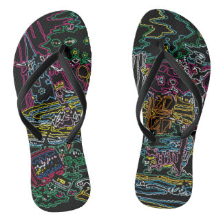 CHEBLO'S< Neon >Beach Sandal