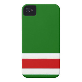 CHECHNYA flag blackberry box Case-Mate iPhone 4 Cases