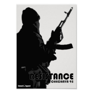 Chechnya Resistance Poster