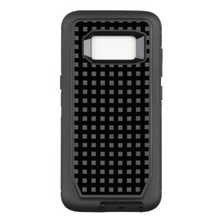 Check-Mate-Black-Gray-Unisex OtterBox Defender Samsung Galaxy S8 Case