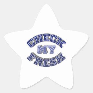 Check My Fresh Star Sticker