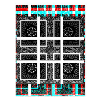 Check my Squares Curves.png Postcard