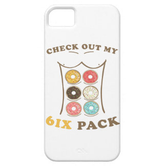 Check Out My Six Pack Donut Shirt iPhone 5 Case