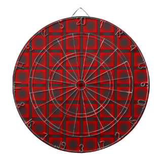 Check pattern dartboard