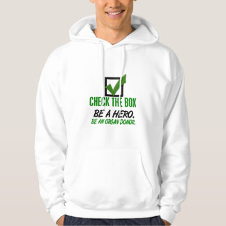 Check The Box Be An Organ Donor 1 Hoodie