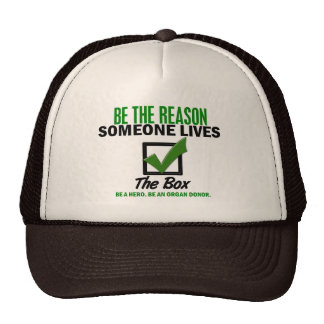 Check The Box Be An Organ Donor 4 Hat