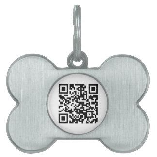 Check this QR code Pet Tag
