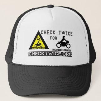 Check Twice Trucker Hat