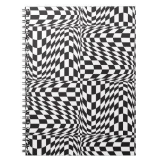 Check Twist Spiral Notebook