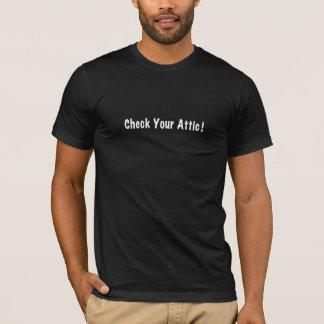 Check Your Attic! Dark Shirt