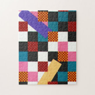 "CHECKER BOARD 11""X14"" JIGSAW PUZZLE"