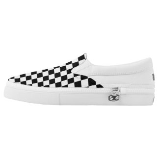 Checker board slip on