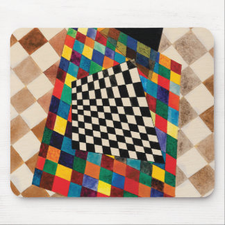 Checker by Wassily Kandinsky Mouse Pad