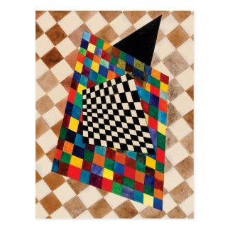 Checker by Wassily Kandinsky Postcard