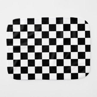 Checker  Flag Burp Cloth