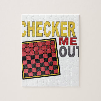 Checker Me Out Puzzle