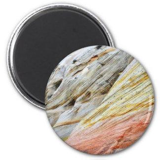 Checkerboad Mesa Zion Sandstone Strata Magnet