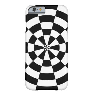 Checkerboard Design Barely There iPhone 6 Case