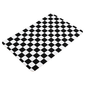 Checkerboard Floor Mat