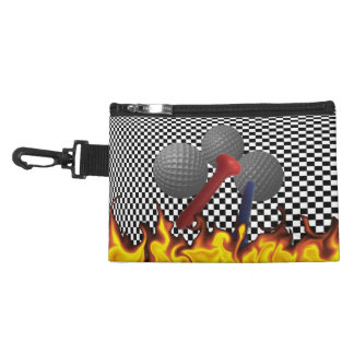 Checkerboard Infinity Accessory Bags