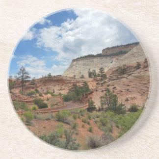 Checkerboard Mesa Zion National Park Utah Coasters