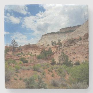 Checkerboard Mesa Zion National Park Utah Stone Coaster