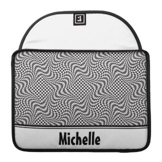 Checkerboard Warp MacBook Pro Sleeve