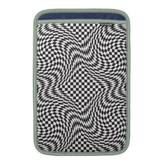 Checkerboard Warp MacBook Sleeve