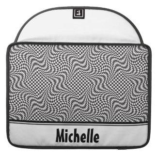Checkerboard Warp Sleeve For MacBooks