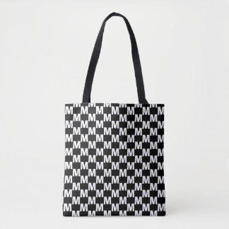 Checkered BALF Tote Bag