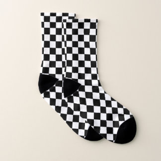 Checkered Black and White 1