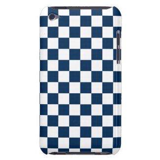 Checkered Blue and White iPod Touch Cover
