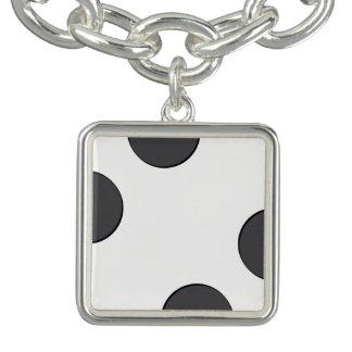 Checkered DarkGrey Dots