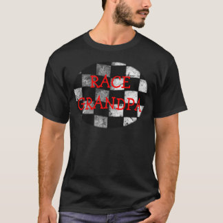 Checkered Flag Customizable T-Shirt
