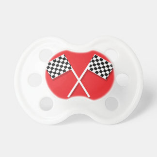 Checkered Flag Pacifier