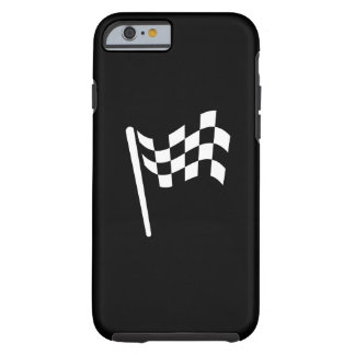 Checkered Flag Pictogram iPhone 6 Case