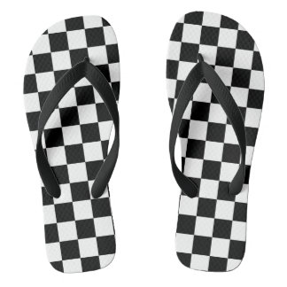 Checkered Flag Thongs