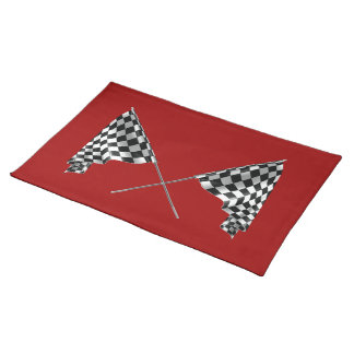 Checkered Flags Placemat