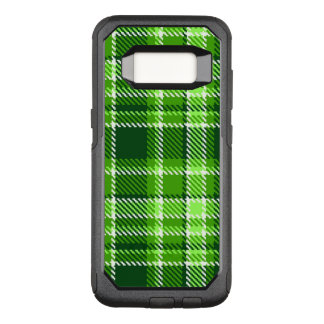 Checkered Green Color Pattern OtterBox Commuter Samsung Galaxy S8 Case