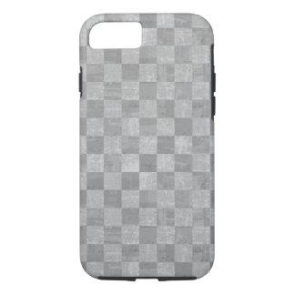 Checkered Grunge Tough iPhone 7 Case