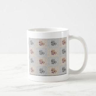 Checkered Hearts Basic White Mug
