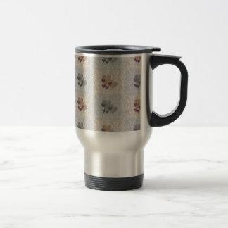 Checkered Hearts Coffee Mug