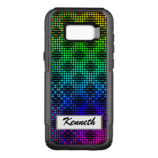 Checkered Lattice Fence by Kenneth Yoncich OtterBox Commuter Samsung Galaxy S8+ Case