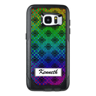 Checkered Lattice Fence by Kenneth Yoncich OtterBox Samsung Galaxy S7 Edge Case