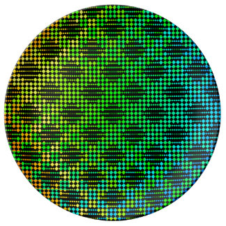 Checkered Lattice Fence by Kenneth Yoncich Plate